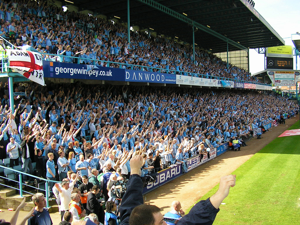 A bouncing Highfield Road